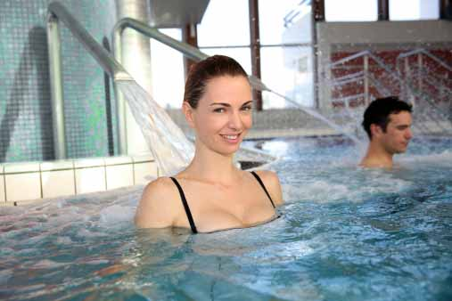 Hot Tub Therapy for Neck and Back Pain