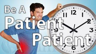 How to be a Patient Patient
