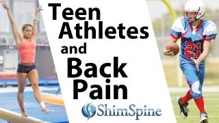 Teen Athletes and Back Pain