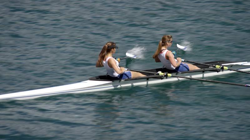 Teen rowers