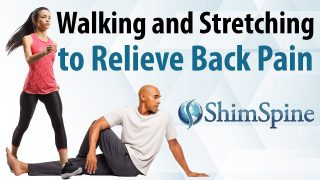 Walking and Stretching to Relieve Back Pain
