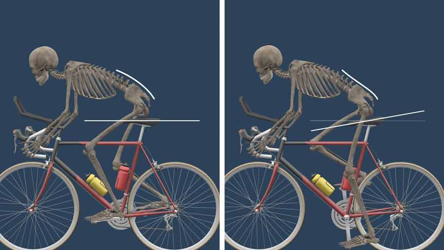 Cycling posture