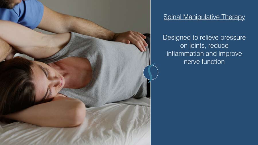 spinal manipulative therapy (SMT)